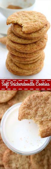 Weiche Snickerdoodle Cookies