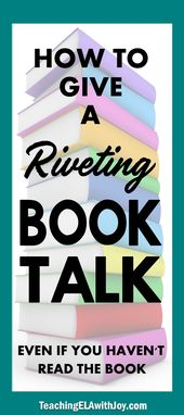 Methods to Give a Riveting E-book Discuss