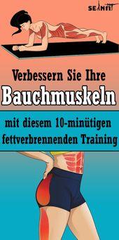 Verbessern Sie Ihre Bauchmuskeln mit diesem 10-minütigen fettverbrennenden Training