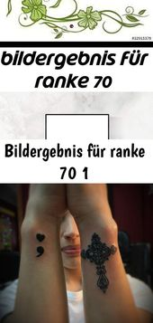 Bildergebnis für Ranke 70 1 – Tattoos