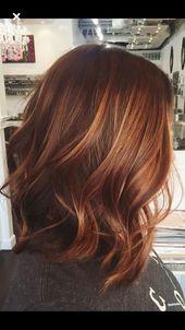 Top 35 warme und luxuriöse Auburn-Haarfarben – Teil 36   – Hair colors