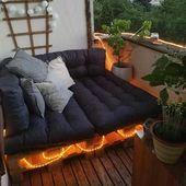 50 schöne Beispiele und Vorschläge für die Terrassendekoration