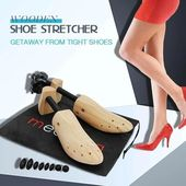 Wooden Shoe Stretcher Video Video Shoe Stretcher Wooden Shoes New Shoes