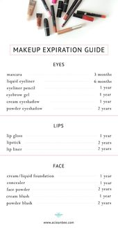Wenn altes Make-up weggeworfen wird + Makeup-Ablauf – #Altes #beauty #makeup #Ma…