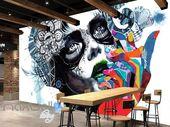 3D Graffiti Urban Princess Girl Wall Murals Wallpaper Wall Art Decals Decor IDCW…  – 3D Graffiti