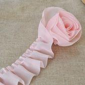 """2 Yards 1,77 """"breite rosa Chiffon Lace Trim für DIY Zubehör Kostüm Headware Supplies   – Handarbeit – Tipps und Tricks"""