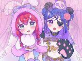eb4b7ef30690dfe4f694bde94d292b54 - Love Live! Sunshine!! Ruby Kurosawa, Kanan Matsuura