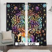 Multi Color Fenster Vorhang Tür Vorhang Fenster Behandlung Türverkleidungen Balko …   – Balkon Ideen