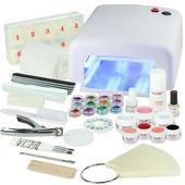 25 New Nail Art Equipment – Nails and Beauty Factory UV Gel Nagelstudio Starter …