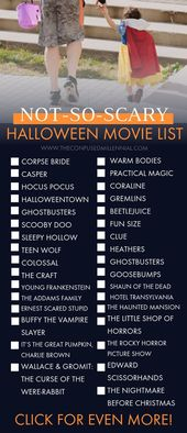 The Ultimate List of Halloween Movies [100+ from Scary to Not-So-Scary!]