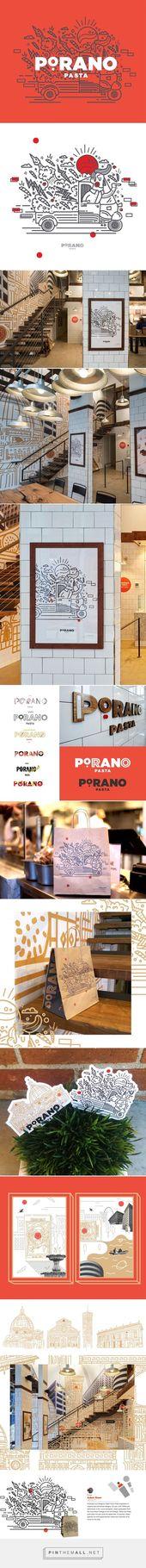 Porano en Behance – creado a través de pinthemall.net:   – brand identity