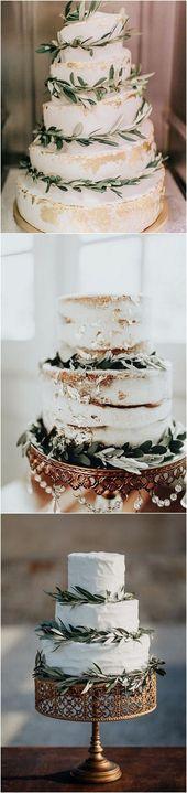 Trending-12 Sage Green Wedding Cakes to Love   – Hochzeitstorte