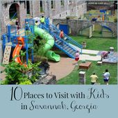 10 Orte mit Kindern in Savannah Georgia zu besuchen – Kids travel