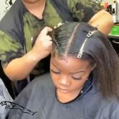 2 feedin braids #hairstyle braiding