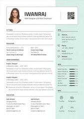 Exemple De Cv Graphique A Telecharger Au Format Word Mycvstore Resume Template Editable Resume Resume