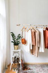Hängenden Zweig Kleidung Rack von Kekoni auf Etsy