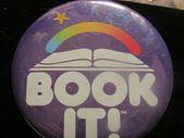 Buche es! Pizza Hut Leseprogramm VTG 1988 Button
