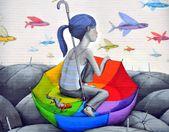 Seth's street art around the world   – Ilustrazioni