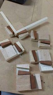 Einfache Holzprojekte – CLICK PIC für verschieden…