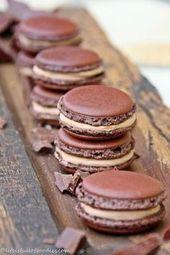 Schokoladenmacarons