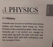 A brief history of physics 2