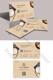 Illustrator Business Card Elegant and simple high end Chinese restaurant business card template#pikbest#te...