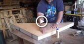 How to Build a Corner Shelf or Desk Unit -DIY Daddy