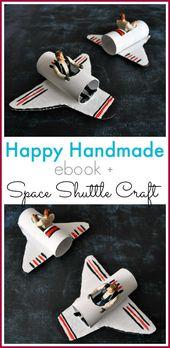 Ett lyckligt hemlagat rymdfärjebåt