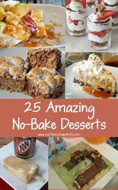 25 erstaunliche No-Bake-Dessert-Rezepte
