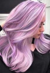 55 Dreamy Lilac Hair Color Ideas: Lilac Hair Dye Tips – Glowsly – Hair