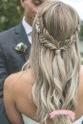 Fishtail Braid - Bridal Hairstyle #Wedding Hair #Wedding Hairstyle #Bride Hairstyle