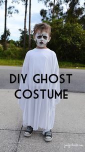 DIY Halloween Costumes for Boys – Ghost and Pirate