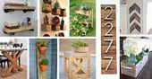 DIY-Projekte aus wiederverwendetem Holz können zu Hause durchgeführt werden, und Sie müssen nicht …