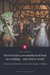 The best ideas you should steal from my wedding – and what to avoid