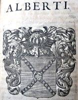 Blason De La Famille Alberti Dans La Toscane Francoise 1657 Blason Livres Anciens Reliure