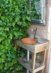 Originelle Ideen für Gartenspüle