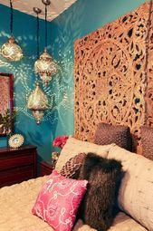 89+ Cozy & Romantic Bohemian Style Bedroom Decorating Ideas