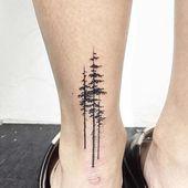Knöchel zurück Baum Tattoo – Kadın Ayak Bileği Dövmeleri / Woman Ankle Tattoos
