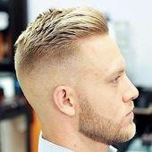 27 Schöne Crew-cut Frisuren für Männer