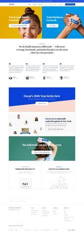 Oscar Web Landing Page Design Inspiration | Designers Byte 1