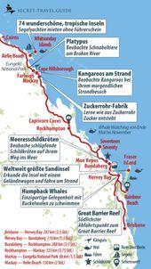 Australiens Ostküste von Brisbane nach Cairns / Cape Tribulation