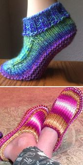 Better Dorm Boots – Free Knitting Pattern