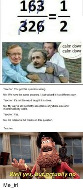 My complete math profession : memes
