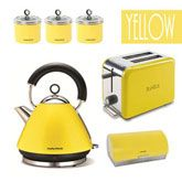 Bright here, bright now | Kettle, Lemon kitchen and Kitchens