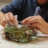 Herbstdekoration mit Kerze selber machen – Schöne Deko