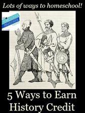 Homeschool Highschool Podcast Episode 23: Methods to Earn Historical past Credit