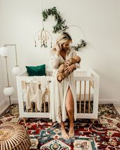 Süße Boho Kindergarten Alarm auf le Blog heute, Mamas! Es ist zufällig für einen Ba