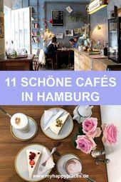 11 schöne Cafés in Hamburg: Von zuckersüß bis urgemütlich