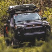 Another beautiful shot of Toyota 4runner Overland by rockcreekoverland