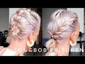 Longbob hairstyles, everyday life and work OlesjasWelt – YouTube – hairstyle